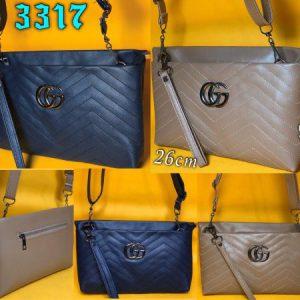 کیف دوشی گلدوزی چنل ۱۵۰۰۰ تومان